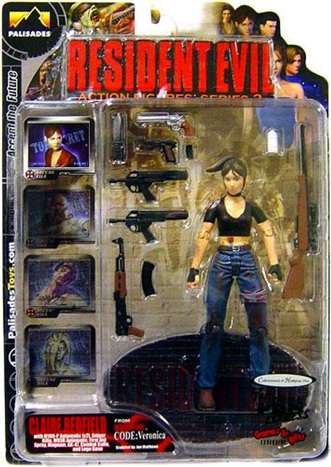Resident Evil Series 2 Claire Redfield Action Figure [Bloody Version]