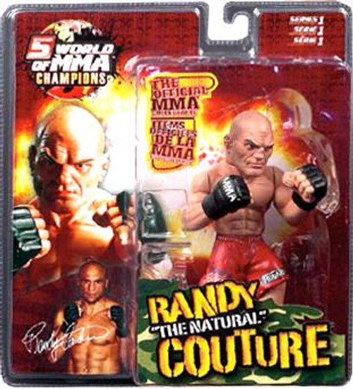 UFC World of MMA Champions Series 1 Randy Couture Action Figure