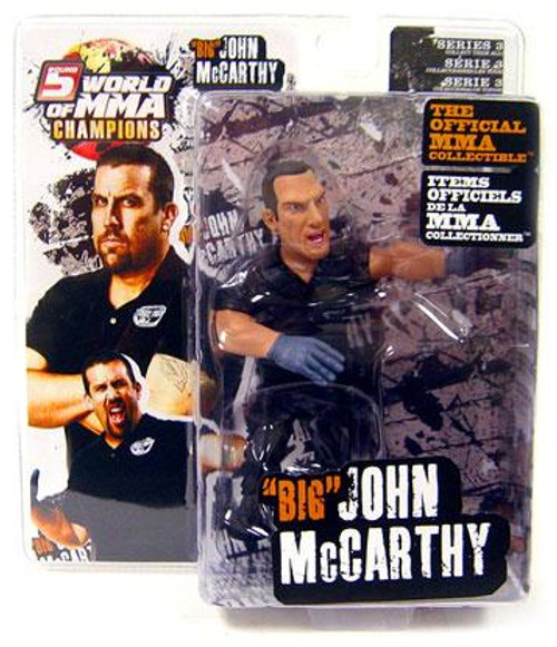 UFC World of MMA Champions Series 3 John McCarthy Action Figure