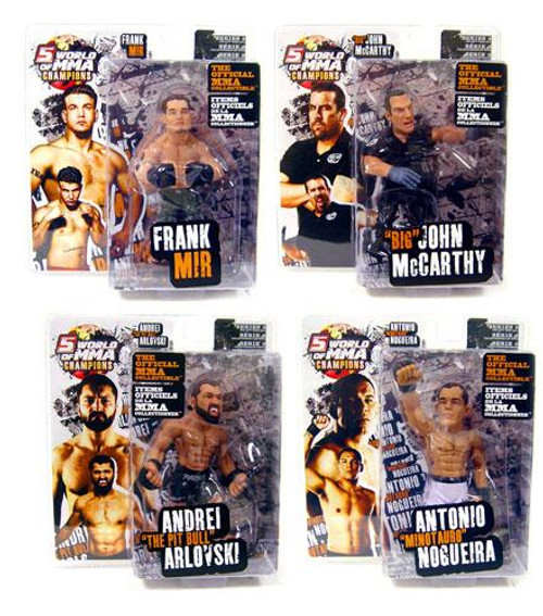 UFC World of MMA Champions Series 3 Set of 4 Action Figure
