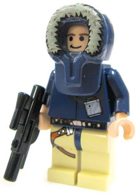 LEGO Star Wars Loose Han Solo Minifigure [Hoth Hood Loose]