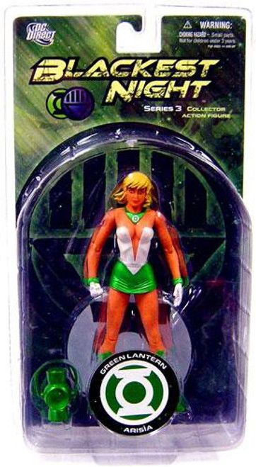 DC Blackest Night Series 3 Green Lantern Arisia Action Figure
