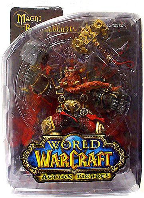 World of Warcraft Series 6 Magni Bronzebeard Action Figure [Dwarven King]