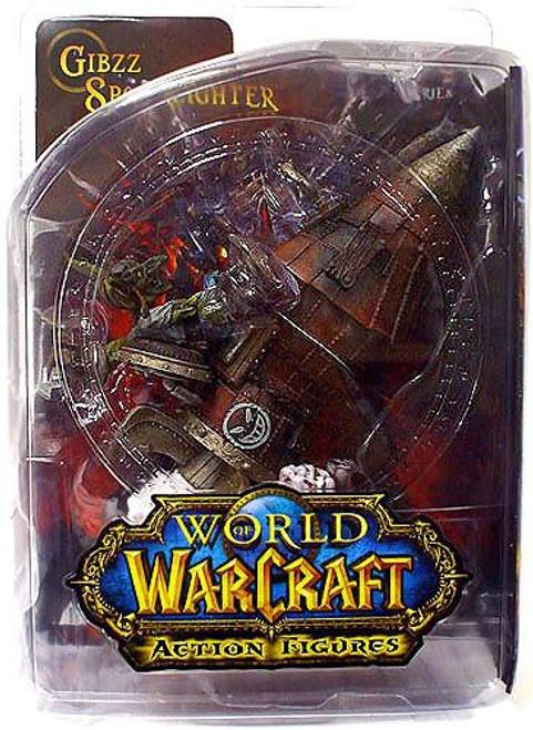 World of Warcraft Series 6 Gibzz Sparklighter Action Figure [Goblin Tinker]
