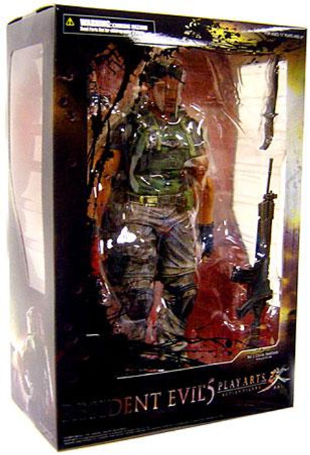 Resident Evil Play Arts Kai Chris Redfield Action Figure