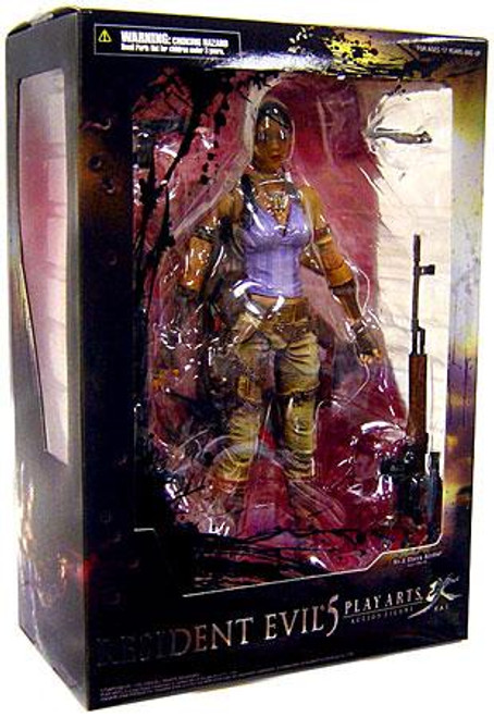 Resident Evil Play Arts Kai Sheva Alomar Action Figure