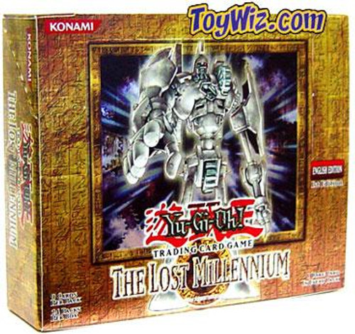 YuGiOh The Lost Millennium Booster Box [24 Packs] [Sealed]