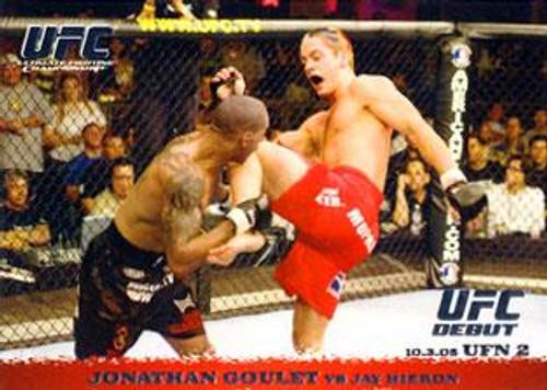 UFC 2009 Round 1 Jonathan Goulet #35