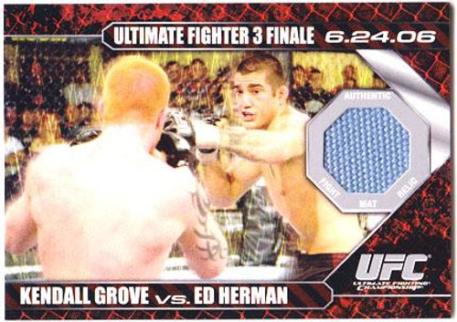 UFC 2009 Round 1 Fight Mat Relic Kendall Grove Vs. Ed Herman DM-GH