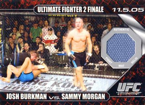 UFC 2009 Round 1 Fight Mat Relic Josh Burkman Vs. Sammy Morgan DM-BM