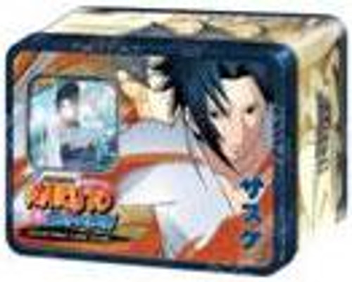 Naruto Shippuden Card Game Unbound Power Sasuke Uchiha Collector Tin