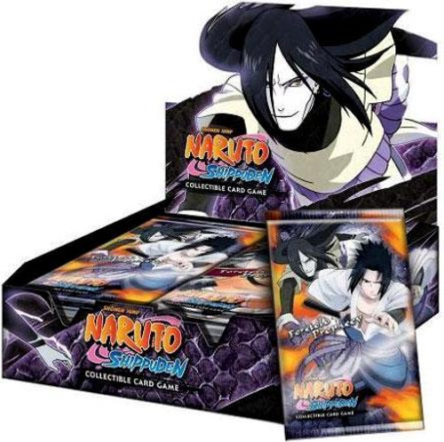 Naruto Shippuden Card Game Foretold Prophecy Booster Box [24 Packs]