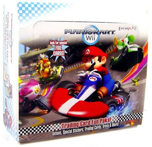 Super Mario Mario Kart Wii Trading Card Box