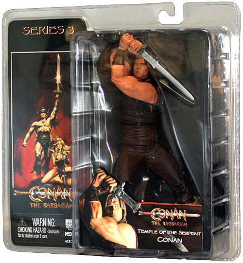 NECA Conan the Barbarian Temple of the Serpent Conan Action Figure