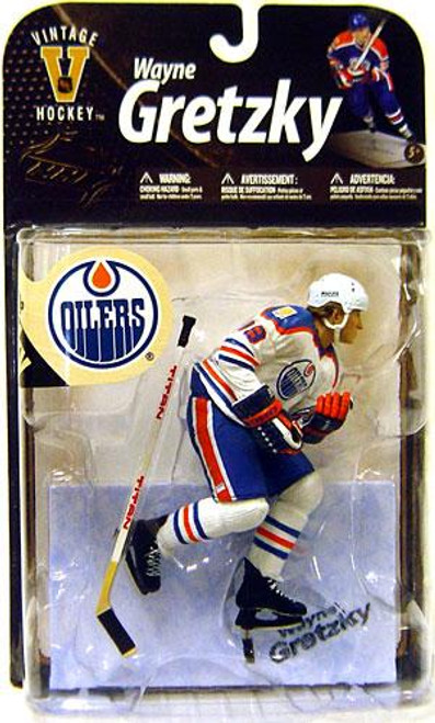 McFarlane Toys NHL Edmonton Oilers Sports Picks Legends Series 8 Wayne Gretzky Action Figure [White Jersey Variant]