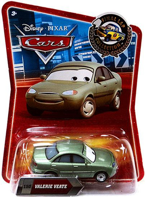 Disney Cars Final Lap Collection Valerie Veate Exclusive Diecast Car