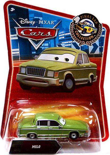 Disney Cars Final Lap Collection Milo Exclusive Diecast Car