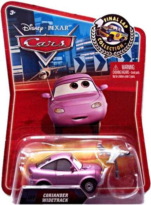 Disney Cars Final Lap Collection Coriander Widetrack Exclusive Diecast Car