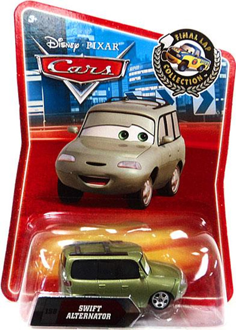 Disney Cars Final Lap Collection Swift Alternator Exclusive Diecast Car