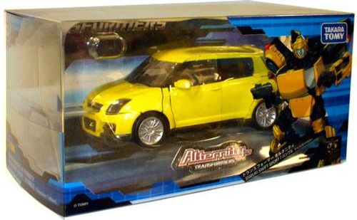 Transformers Japanese Alternity Suzuki Swift Bumblebee Action Figure A-03