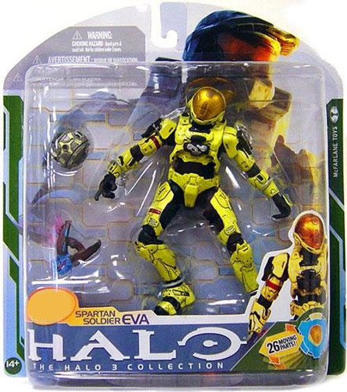 McFarlane Toys Halo 3 Series 5 Spartan Soldier EVA Exclusive Action Figure [Pale Yellow]