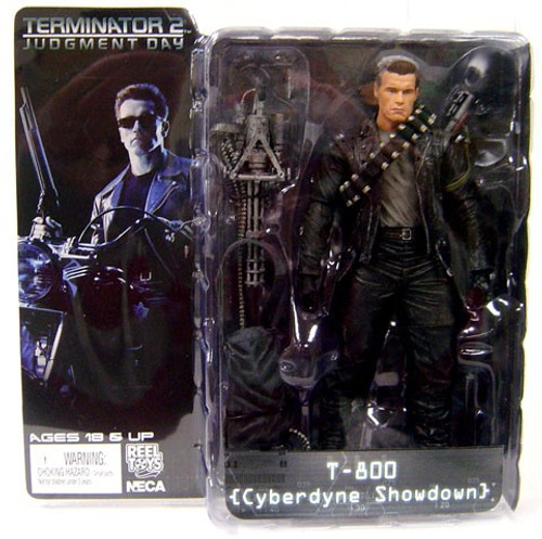 NECA The Terminator Terminator 2 Judgment Day Series 2 T-800 Action Figure [Cyberdyne Showdown]