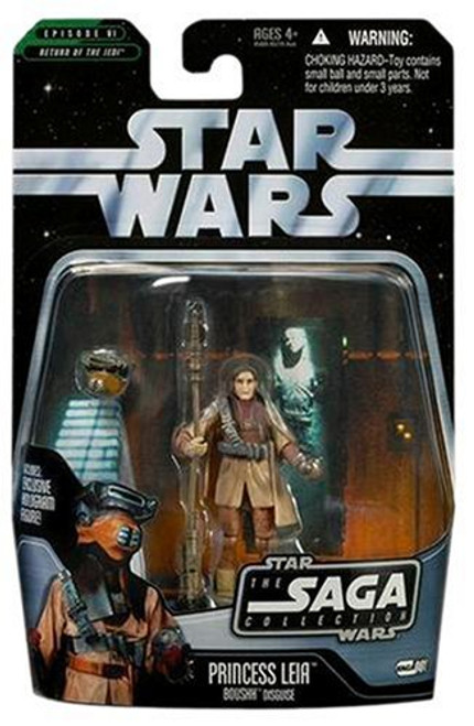 Star Wars Return of the Jedi Saga Collection 2006 Princess Leia Action Figure #01 [Boushh Disguise]