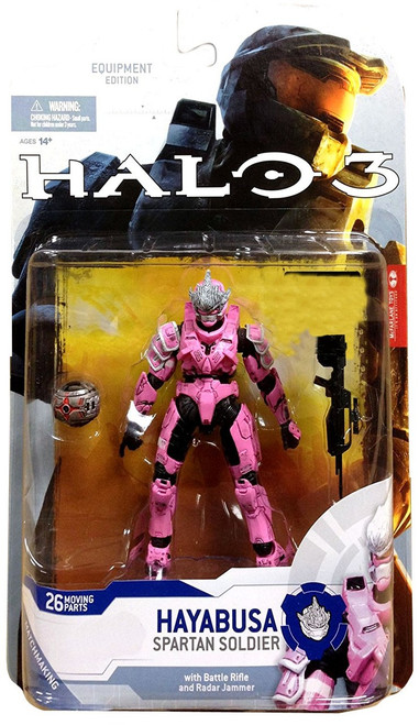 McFarlane Toys Halo 3 Series 5 Spartan Soldier Hayabusa Exclusive Action Figure [Pink]