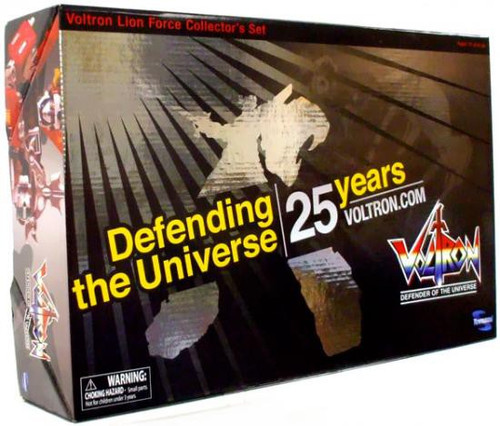Defender of the Universe 25th Anniversary Voltron Lion Force Collector's Set [Metallic]