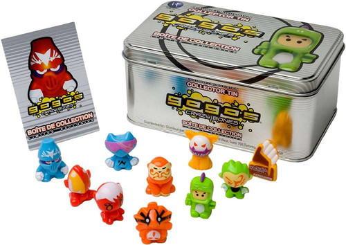 Crazy Bones Gogo's Advance Advance Special Edition Tin [Silver]