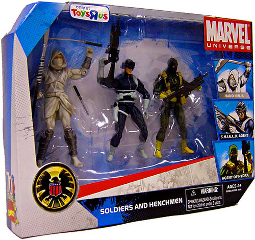 Marvel Universe Exclusives Soldiers & Henchmen Exclusive Action Figure Set