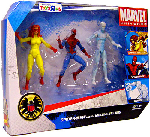 Marvel Universe Exclusives Spider-Man & His Amazing Friends Exclusive Action Figure Set