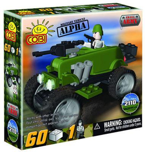 COBI Blocks Small Army Alpha Set #2110