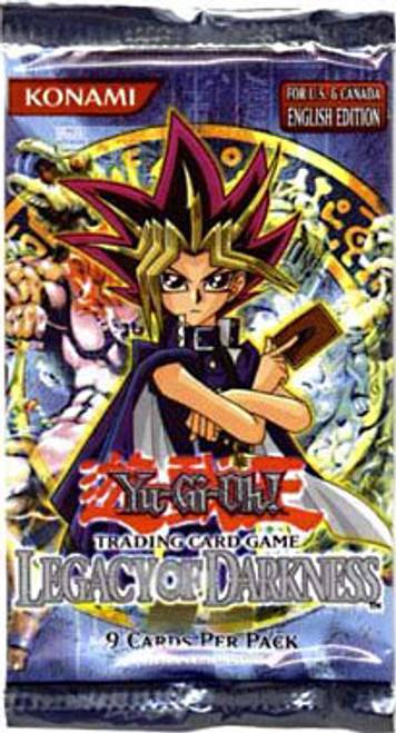 YuGiOh Legacy of Darkness Booster Pack [Unlimited Edition]