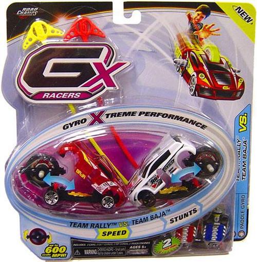 GX Racers Speed Team Rally vs. Team Baja Plastic Car 2-Pack