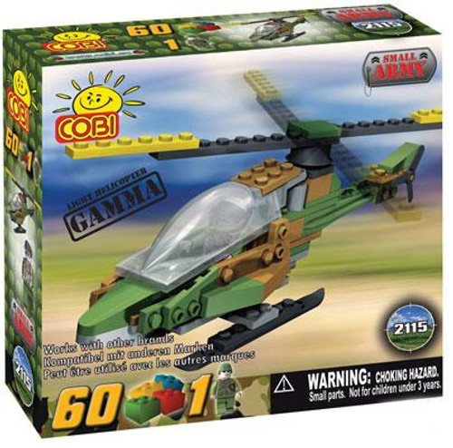 COBI Blocks Small Army Gamma Helicopter Set #2115