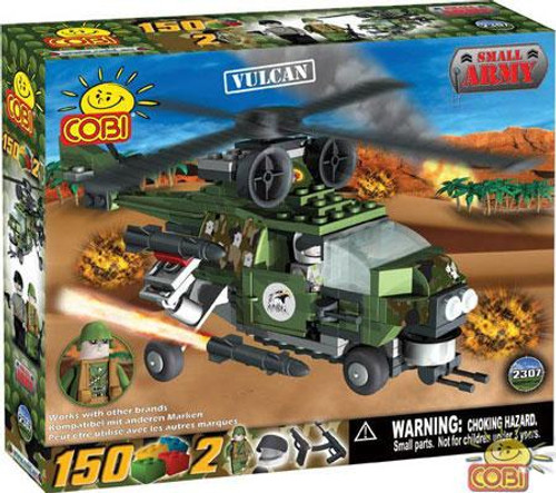 COBI Blocks Small Army Vulcan Helicopter Set #2307