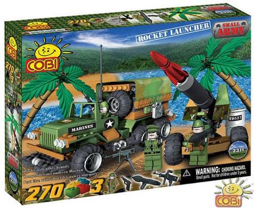 COBI Blocks Small Army Rocket Launcher Set #2371