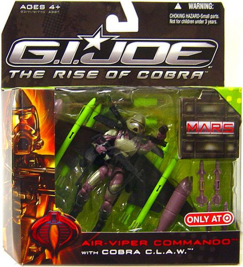 GI Joe The Rise of Cobra MARS Troopers Air-Viper Commando Exclusive Action Figure