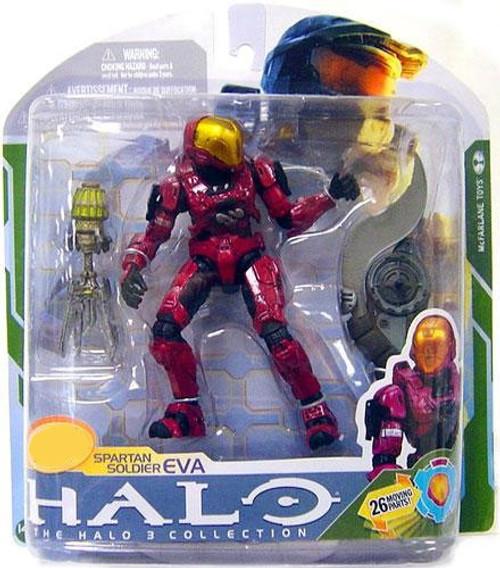 McFarlane Toys Halo 3 Series 5 Spartan Soldier EVA Exclusive Action Figure [Crimson]