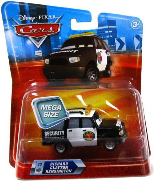Disney Cars Deluxe Oversized Richard Clayton Kensington Diecast Car