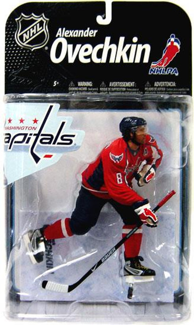 McFarlane Toys NHL Washington Capitals Sports Picks Series 22 Alexander Ovechkin Action Figure [Red Jersey Variant]
