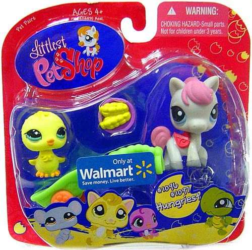 Littlest Pet Shop Baby Chick & Pony Exclusive Figure 2-Pack [Corn]