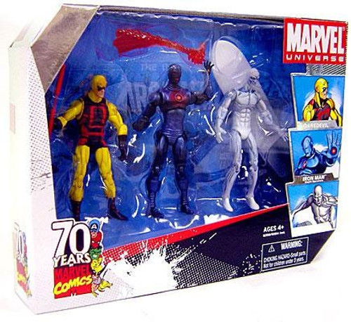Marvel Universe 70 Years of Marvel Comics Exclusive Action Figure Set
