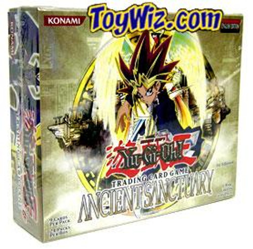YuGiOh Ancient Sanctuary (1st Edition) Booster Box [24 Packs] [Sealed]