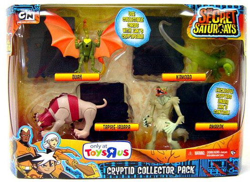 The Secret Saturdays Cryptid Collector Pack Exclusive Mini Figure Set