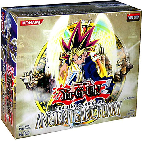 YuGiOh Ancient Sanctuary Booster Box [24 Packs] [Sealed]