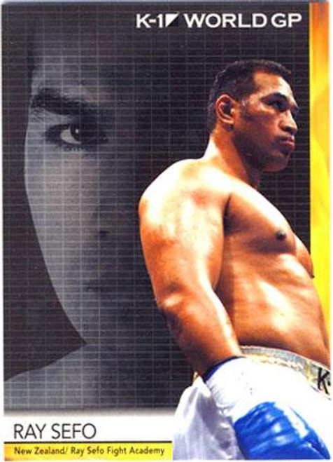MMA K-1 World GP Ray Sefo #19