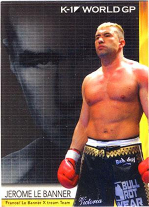 MMA K-1 World GP Jerome Le Banner #30
