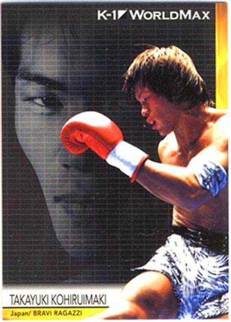 MMA K-1 World GP Takayuki Kohiruimaki #38